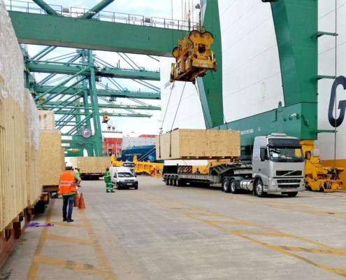 Conceptum Logistics- MDF Plant ex Europe to Brazil