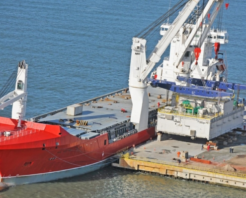 Conceptum Logistics - Oil Drilling Platform from Indonesia to Brazil
