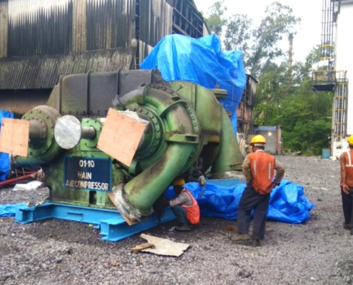 Conceptum Logistics - Plant relocation ex Dolvi to Thane in India