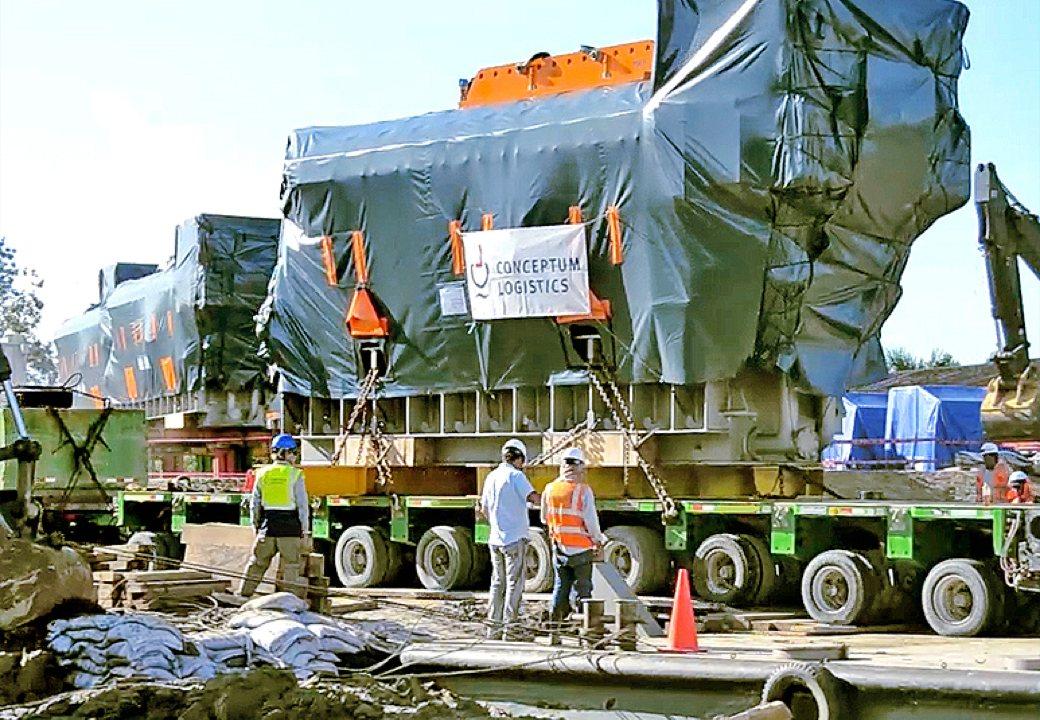 Conceptum Logistics - Power Plant ex Europe to Peru