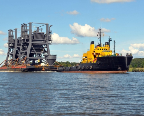 Conceptum Logistics - Two Ship Un-loaders ex Poland to Germany