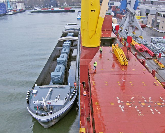 Conceptum Logistics - Barging - Power plant ex Europe to Peru 3