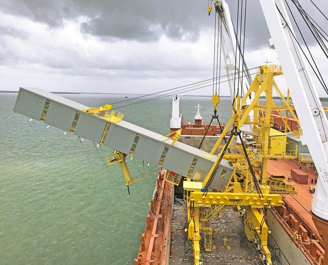 Conceptum Logistics - Chartering - Shiploader ex China to Guinea 4