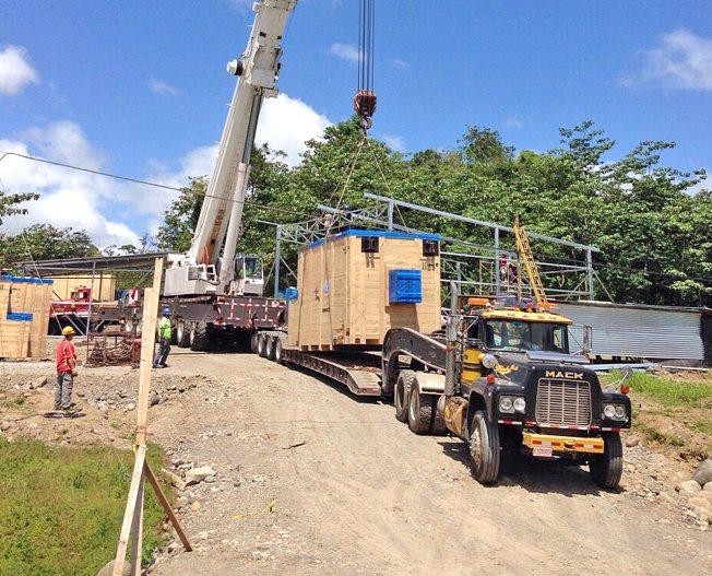 Conceptum Logistics - Generatoren aus Spanien nach Costa Rica