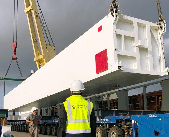 Conceptum Logistics - Loading supervision in Dalian China