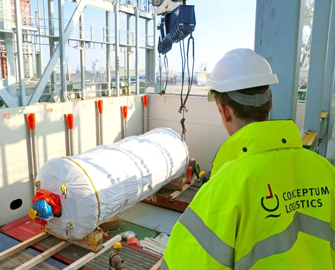 Conceptum Logistics - Loading supervision in Hamburg Germany