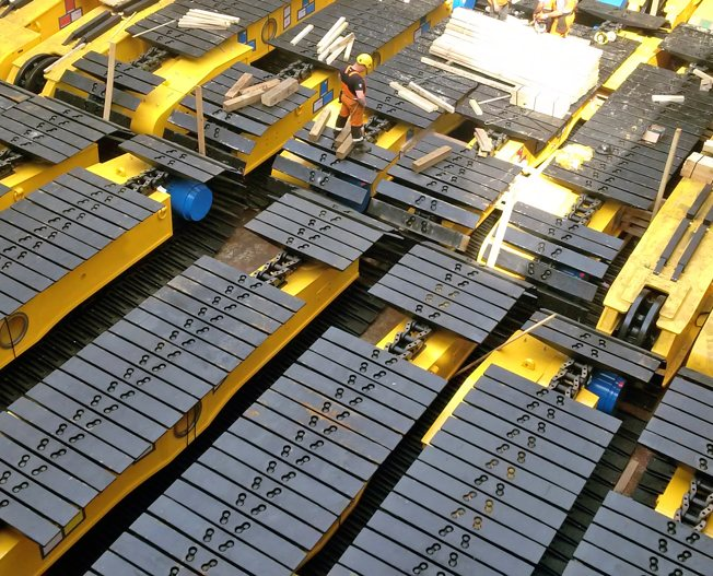 Conceptum Logistics - Mining - Mobile sizing rig ex worldwide to Brazil