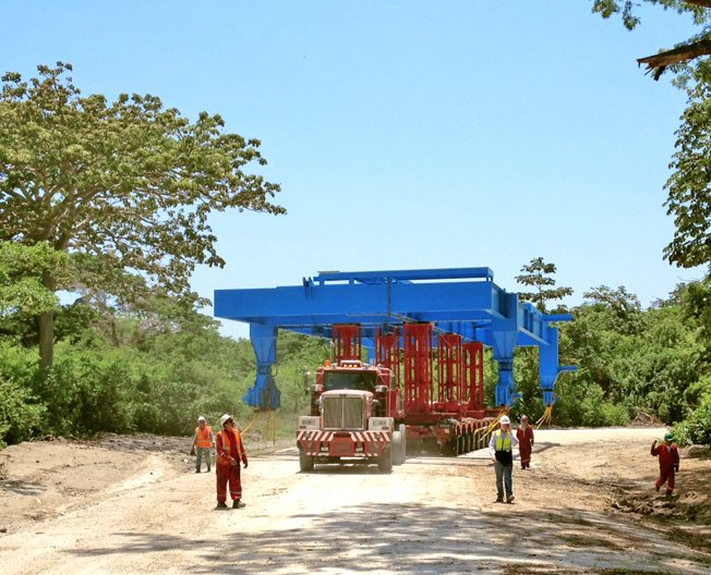Conceptum Logistics - Mining - Stacker Reclaimer ex China and Europe to Colombia