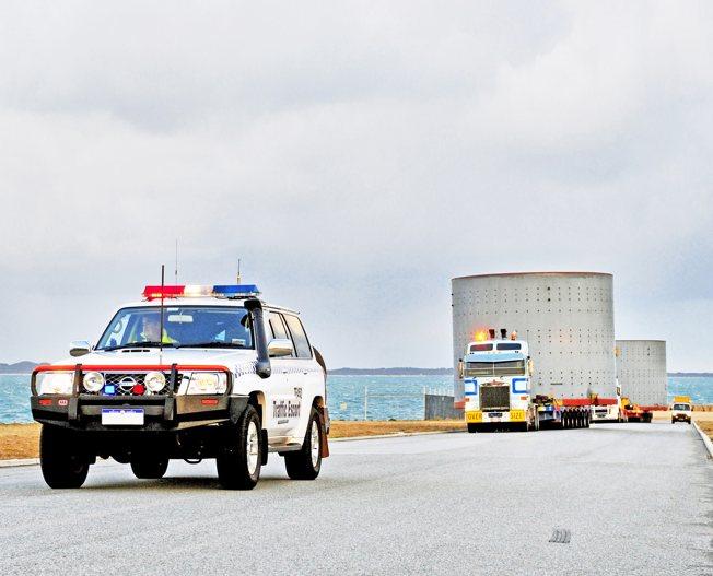 Conceptum Logistics - Zementanlage von weltweit nach Australien