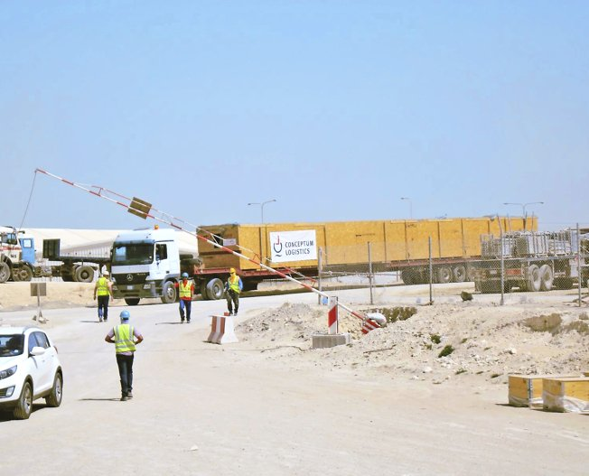 Conceptum Logistics - Building Material from Germany to Saudi Arabia
