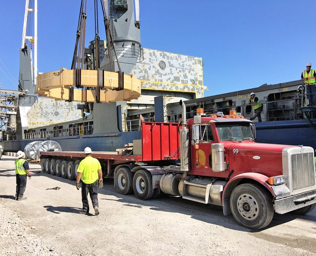 Conceptum Logistics - Cement Plant to the USA