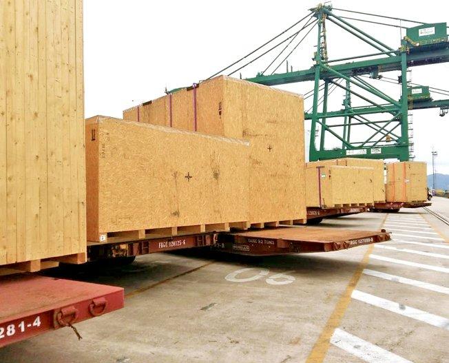 Conceptum Logistics - MDF Plant to Brazil
