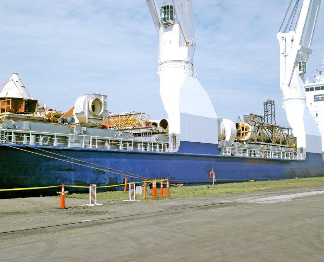 Conceptum Logistics - MDF Plant to Colombia