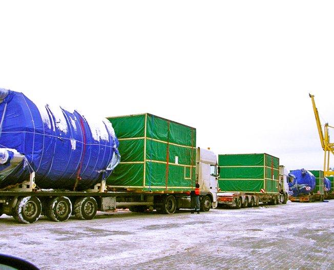 Conceptum Logistics - Paper Impregnation Line to Belarus