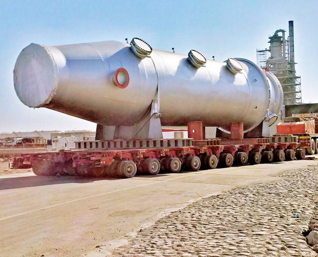 Conceptum Logistics - Petrochemical equipment ex Germany to Oman