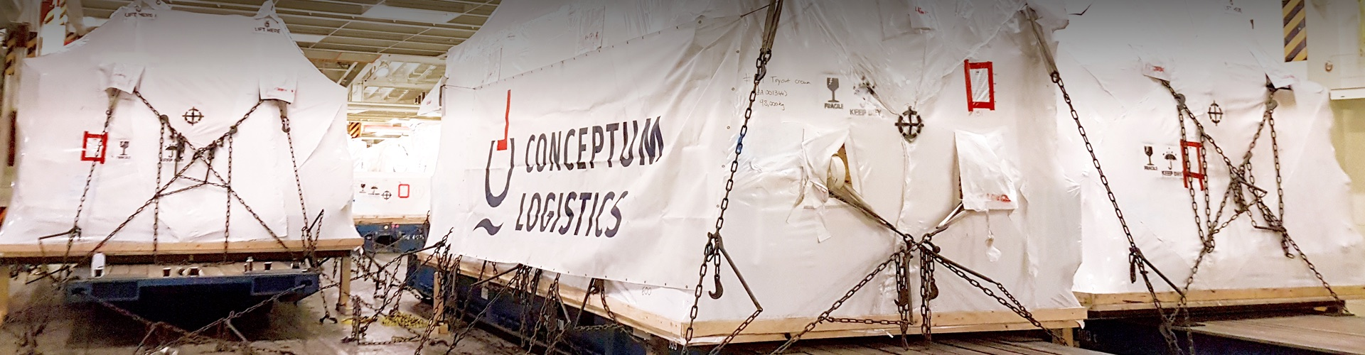 Conceptum Logistics - Plant relocation