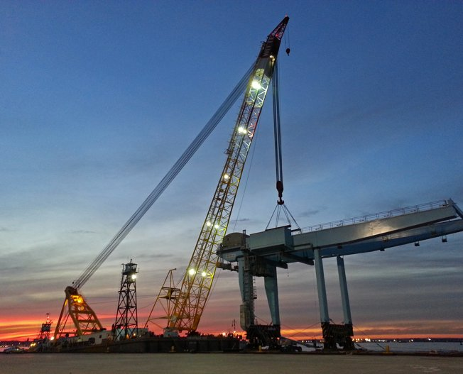 Conceptum Logistics - Port Cranes to the United States