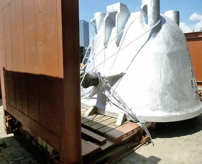 Conceptum Logistics - Slag Pots to Australia