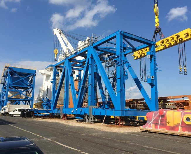 Conceptum Logistics - Stacker Reclaimer in Bremerhaven