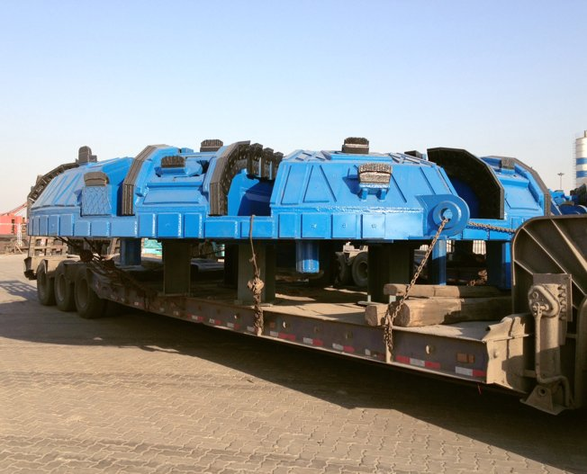 Conceptum Logistics - Tunnel Drilling Machine ex China to Singapore